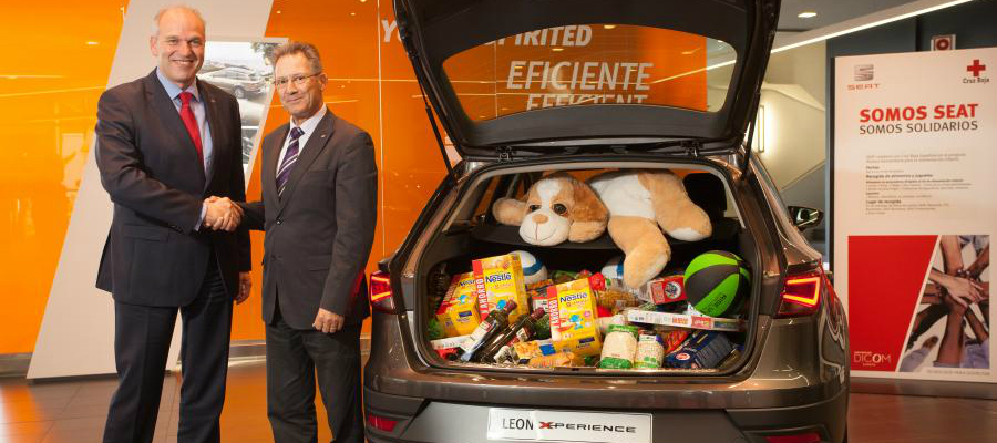 SEAT collaborates with Spanish Red Cross in Red Cross Youth toy campaign, as well as 'Humanitarian Partnership for Children's Food'