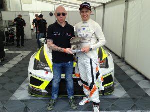 LeonOC Admin Andrew with Alex Morgan