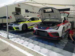 Wolf Power Racing, Alex Morgan & Lucas Orrock