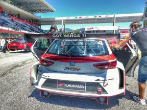 Lucas Orrock on the grid of race 2, Got Wings?