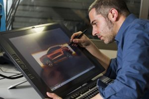 More than 1,000 sketches are made before settling on the final design of a vehicle