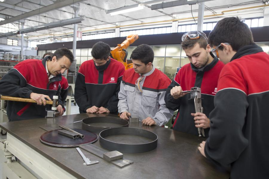 The Dual Vocational Training System, inspired by the German model, was implemented in 2012
